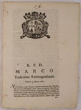 SENTENZA SACRA ROTA TODI GERONIMO MONGANI TESTAMENTO VOLONTA TESTAMENTARIA 1820