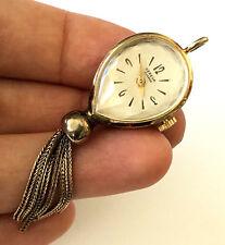 Ladies Watch Necklace Pendant Runs Vintage Croton F36H C2486 Mechanical Geneva