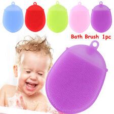 Glove  Silicone  Shower Massage Body Scrubber  Bath Brush Cleaning Mat