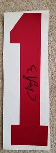 PAVEL DATSYUK AUTOGRAPHED JERSEY NUMBER #1 From early career signed in store