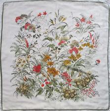 -Superbe Foulard GIANNI VERSACE  100% soie  TBEG vintage scarf 88 x 90 cm