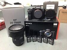 Sony Alpha A7S II 12.2MP Digital Camera - Black, Metabones, Cage, Batts etc