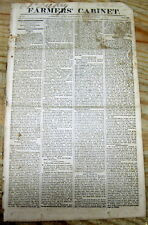 1817 newspaper w VERY EARLY Long detailed description of PITTSBURGH Pennsylvania