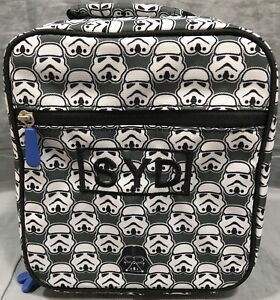 Pottery Barn PB Teen Gear-Up Stormtrooper Classic Lunch Bag SYD Monogram