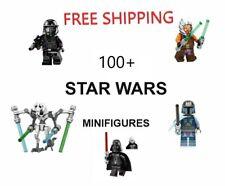 Star Wars Minifigures Clone Trooper Darth Vader Kylo Ren Mandalorian Yoda Luke