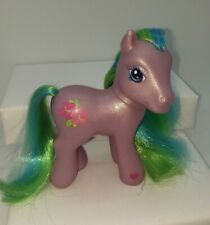 My Little Pony G3 Purple Tropical Delight Green Blue Shiny Hair