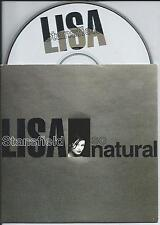 LISA STANSFIELD - So Natural PROMO CD SINGLE 1TR CARDSLEEVE (BMG) 1993