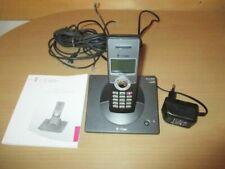 Telekom Sinus 6220 ISDN Schnurlostelefon mit Bedienungsanleitung