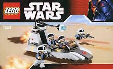 LEGO STAR  WARS  REBEL  SCOUT  SPEEDER  (#7668)   BRAND  NEW