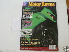 MOTOR REVUE 2009-03 POSTER HD CUSTOM,DUCATI SL600,CARVER ONE,KTM 990 SM R,KAWA