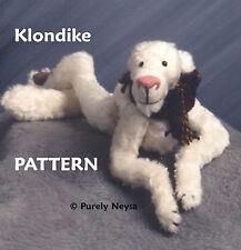 "Mohair ""Klondike"" Teddy Bear Pattern by Neysa A. Phillippi of Purely Neysa"
