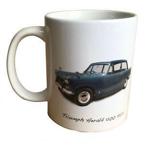 Triumph Herald 1200 1967 - 11oz Ceramic Mug - Was this your First Car?