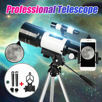 3X/1.5X 70mm Monocular Space Astronomical Telescope for Kids Children Adult