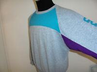 vintage 80s Adidas sweatshirt pullover sport 80er jahre oldschool pulli D7 M/L