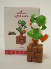 Hallmark Ornament 2017 YOSHI Super Mario Nintendo Video Game NEW