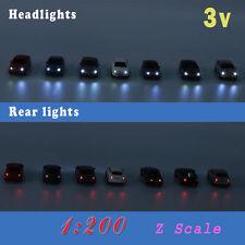 EC2003V Neu 12 Stk. Spur Z Autos PKW mit Beleuchtung 3V