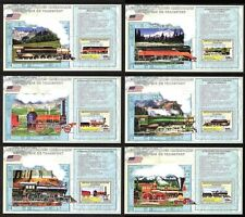 Kongo US Dampflokomotiven kompletter Satz Blöcke  **/MNH