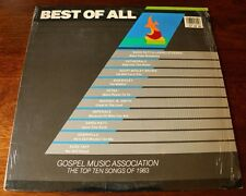 """Gospel Music Association Top Ten Songs Of 1983 """"Best Of All"""" LP-Album-Records"""