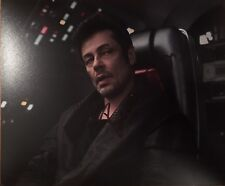 Benicio Del Toro Signed 10x8 Photo - Star Wars