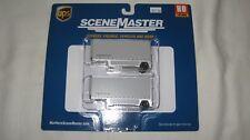 Walthers Ho 26' Drop Floor Trailer 2-Pack Ups United Parcel Service #949-2550