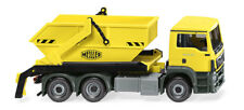 Skip Loaders Lorries ( Man TGS Euro 6 / Meiller) Zinc Yellow Wiking 067906 SP H0