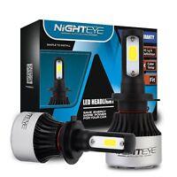 Nighteye H7 72W 9000Lm LED Car Headlight Conversion Globes Bulbs Beam 6500K Kit