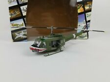 "Franklin Mint: Diecast Armour 1:48 Bell UH-1D ""Sharks"" Huey, U.S. Army B11B326"