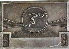 O7029 Médaille Athlétisme Arène Stade JO Jeux Olympiques Course Argent