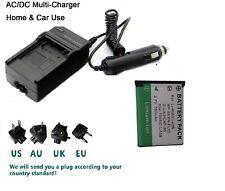 Battery+Charger for Olympus LI-40C Tough TG-310 Tough TG-320 u Stylus Tough-3000