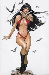 VAMPIRELLA #13 (DAWN MCTEAGUE EXCLUSIVE COLOR VIRGIN VARIANT) COMIC ~ Dynamite