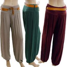 Pantaloni da donna in misto cotone taglia 42