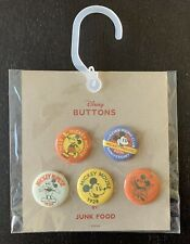 New listing New! Disney Pin Back Buttons by Junk Food Mickey Minnie Mouse 90th Anniversary