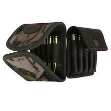 Tourbon Rifle Cartridges Carrying Pouch Ammo Wallet Bullets Holder Nylon/Leather