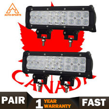 10'' LED Light Bar Spot Flood Combo Off road Truck Boat For Toyota Ford SUV ATV