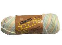 Caron DAZZLE AIRE 4-ply 3oz Baby Rainbow 2625 60% Acrylic, 40% Nylon