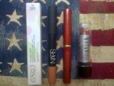 4pc lipstick, liner & balm set: Clinique, NARS, The Body Shop & L.A. Colors