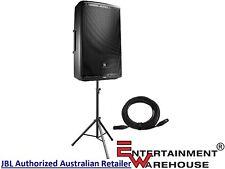 "JBL EON615, 15"", 1000watt, Speaker + Hamilton Stand + 10mtr Cable"
