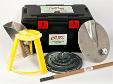 CONCRETE CORE HOLE TOOL KIT for CORK Contractor Starter Kit