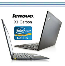 ULTRABOOK  LENOVO X1- CARBON  Core i5-4300U 1,9GHz 8GB  180 GB SSD Win10
