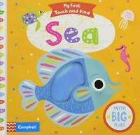 Sea (My First Touch and Find) by Black, Allison, NEW Book, FREE & Fast Delivery,