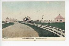 Driving Park on Grand Prairie STUTTGART AR Rare Antique Southern PC 1908