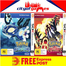 Pokemon Alpha Sapphire & Omega Ruby Bundle 3DS New & Sealed Free Express Post