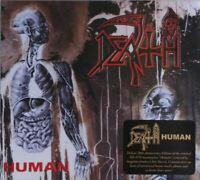 DEATH human (2X CD, album, remastered) death metal, very good condition, 2011