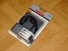 Hama Fullmotion USB 2.0 Winkel Kabel A Stecker mini USB B-Stecker 1,80m, OVP&NEU