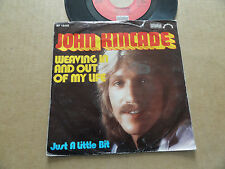 """DISQUE 45T DE JOHN KINCADE  """" WEAVING IN AND OUT OF MY LIFE """""""