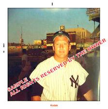 MICKEY MANTLE PHOTO 1960 & 1966 SEASONS 5x5 KO-DAK PAPER NY YANKEES