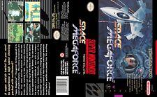 Super Aleste Super Nintendo Replacement SNES Box Art Case Insert Cover