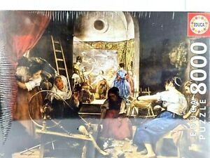 8000 Piece Jigsaw Puzzle EDUCA18584 The Spinners / The Fable of Arachne Artwork