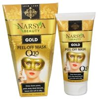 Narsya Peel Off Face Mask Gold Q10 100 ml