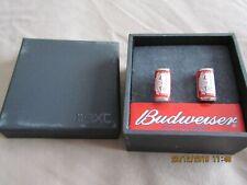 Next Budweiser Cufflinks - In original box - Excellent Condition!